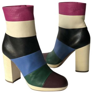 Valentino striped multicolor Boots