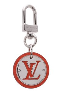 Louis Vuitton Louis Vuitton Epi Cut Circle Bag Charm/Key Holder - Silver/Piment