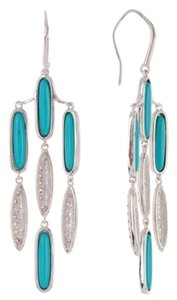 Melinda Maria NWOT Melinda Maria Turquoise Chandelier Earrings
