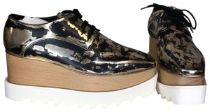 Stella McCartney Black&Gold Platforms