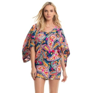 Trina Turk moroccan paisley coverup