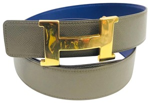 Hermès Constance belt buckle & Reversible leather strap 32MM - Size 105
