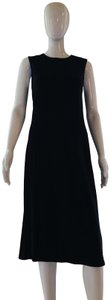Nine West short dress Black Knit Sleeveless Wool on Tradesy