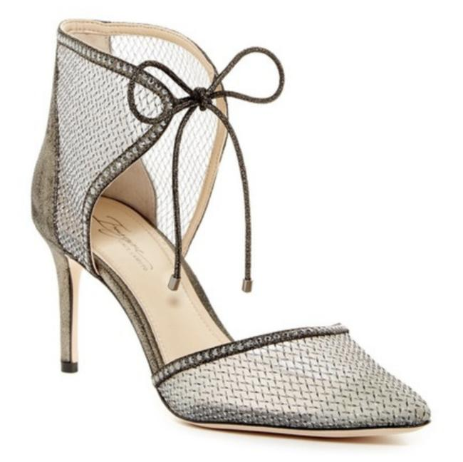 Item - Silver Imagine Mark Mesh D'orsay Pumps Size US 9 Regular (M, B)