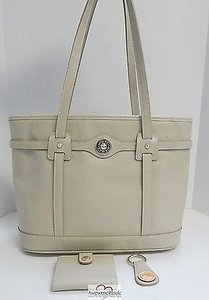 Dooney & Bourke Textured Tote in Beige