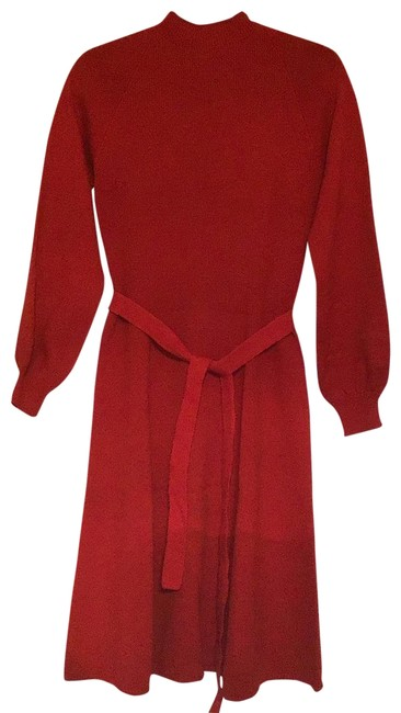 Item - Blue Red ... Short Casual Dress Size 10 (M)