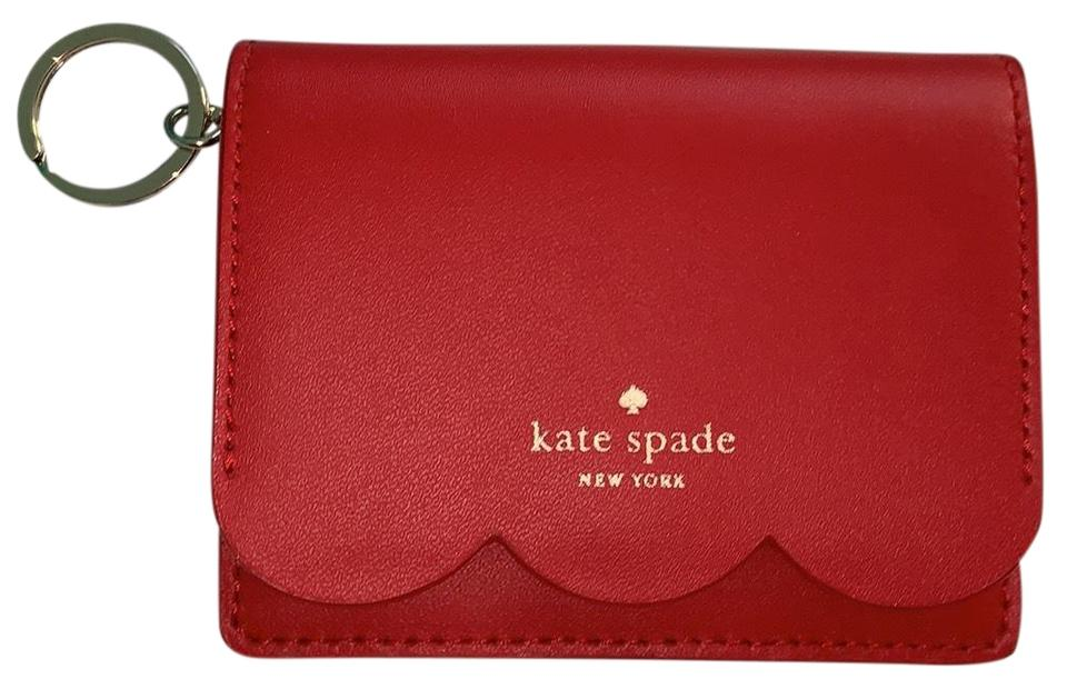 Kate Spade Red Scalloped Magnolia