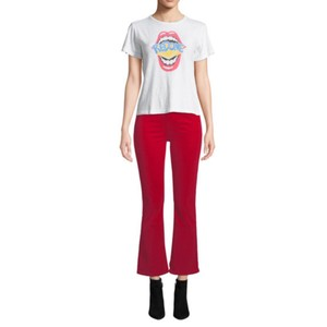 RE/DONE Capri/Cropped Pants Red