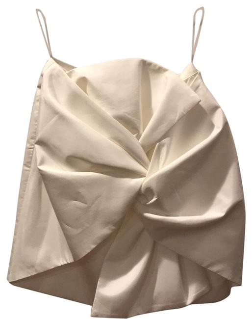 Preload https://img-static.tradesy.com/item/25850190/cmeo-collective-white-with-bow-skirt-size-0-xs-25-0-1-650-650.jpg