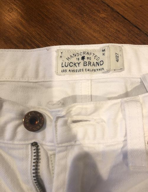 Lucky Brand Cut Off Shorts white Image 1