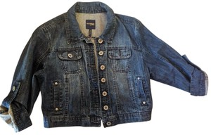 Highway Jeans Size Large Cropped denim Womens Jean Jacket