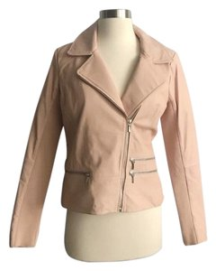 Chelsea28 Pink Leather Jacket