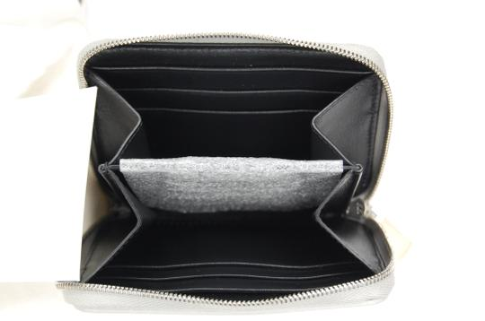Céline Compact Wallet in Laminated grained calfskin Image 5