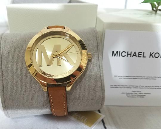 Michael Kors NEW Brown Slim Runway Watch MK2326 Image 1