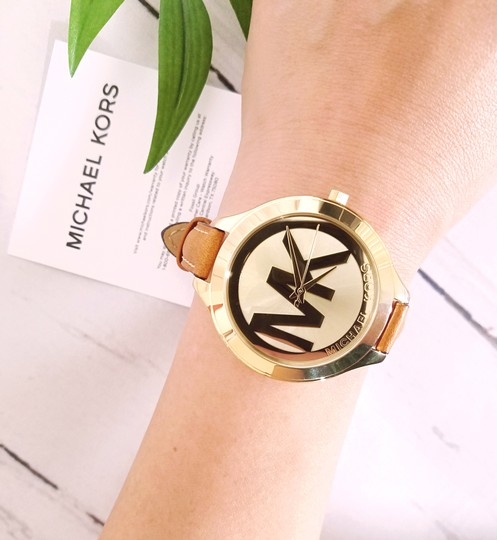 Michael Kors NEW Brown Slim Runway Watch MK2326 Image 10