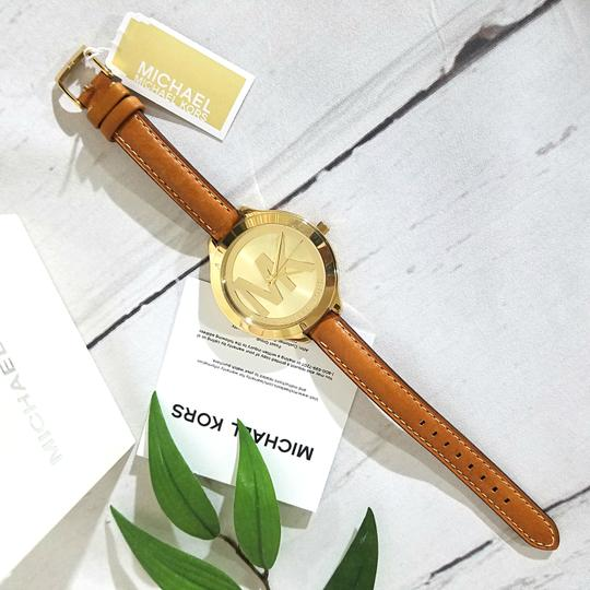 Michael Kors NEW Brown Slim Runway Watch MK2326 Image 11