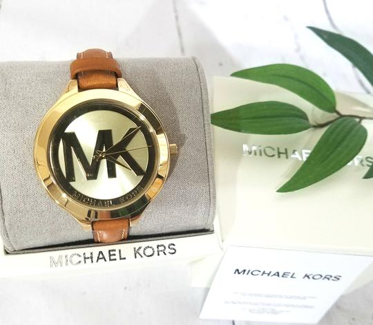 Michael Kors NEW Brown Slim Runway Watch MK2326 Image 4