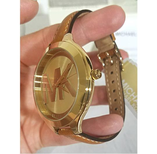Michael Kors NEW Brown Slim Runway Watch MK2326 Image 7