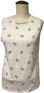 Modern Lux Sleeveless Top Gray