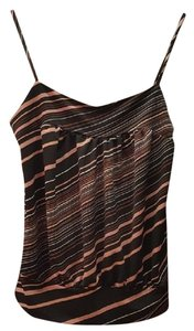 Moa Moa Striped Top Black