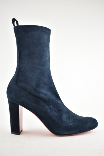 Christian Louboutin Stiletto Ankle Classic Gena blue Boots Image 1