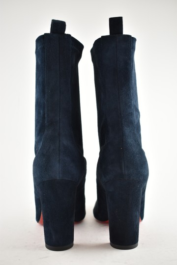 Christian Louboutin Stiletto Ankle Classic Gena blue Boots Image 10