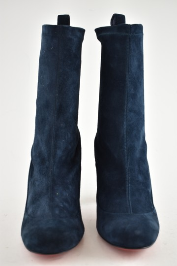 Christian Louboutin Stiletto Ankle Classic Gena blue Boots Image 4