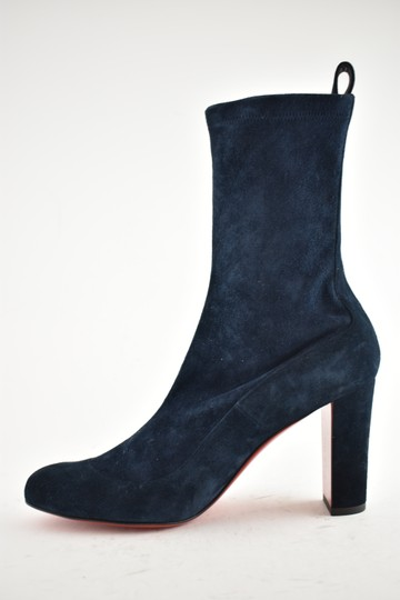 Christian Louboutin Stiletto Ankle Classic Gena blue Boots Image 7