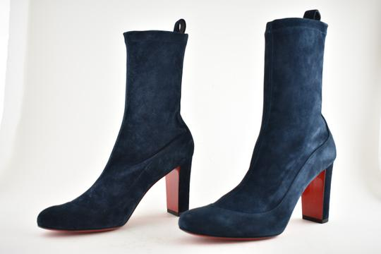 Christian Louboutin Stiletto Ankle Classic Gena blue Boots Image 8