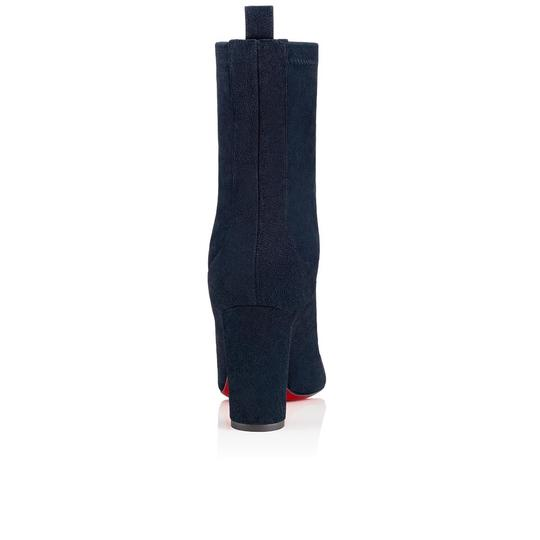 Christian Louboutin Stiletto Ankle Classic Gena blue Boots Image 9