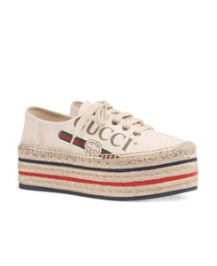 Gucci Gg Espadrille Natural Athletic