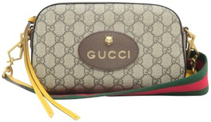 Gucci Camers Canvas Cross Body Bag