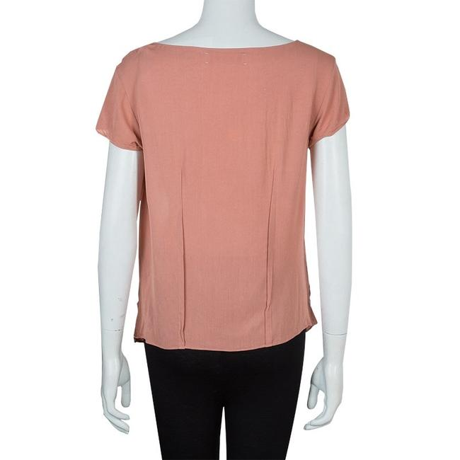 Marni Viscose Twist Top Pink Image 2