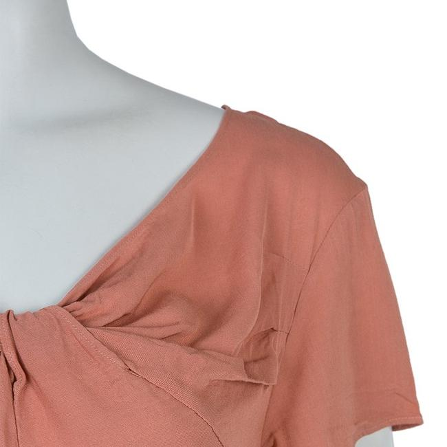 Marni Viscose Twist Top Pink Image 4