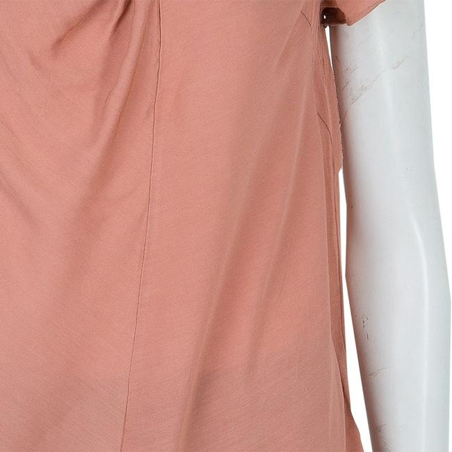Marni Viscose Twist Top Pink Image 6