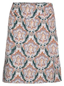 Carven Cotton Viscose Skirt Multicolor