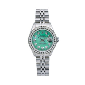 Rolex Rolex Lady-Datejust 6917 26MM Green Diamond Dial With 1.80 CT Diamonds