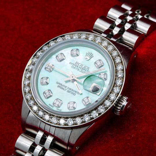 Rolex Rolex Lady-Datejust 6917 26MM Green Diamond Dial With 1.80 CT Diamonds Image 1