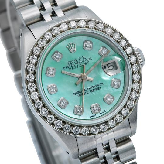 Rolex Rolex Lady-Datejust 6917 26MM Green Diamond Dial With 1.80 CT Diamonds Image 2