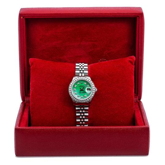 Rolex Rolex Lady-Datejust 6917 26MM Green Diamond Dial With 1.80 CT Diamonds Image 5