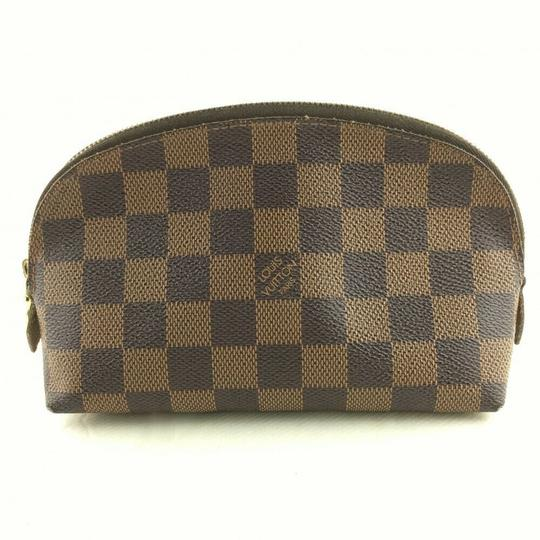 Louis Vuitton Louis Vuitton Pochette Cosmetic Pouch Damier Ebene Image 1
