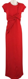 Red Maxi Dress by Cédric Charlier