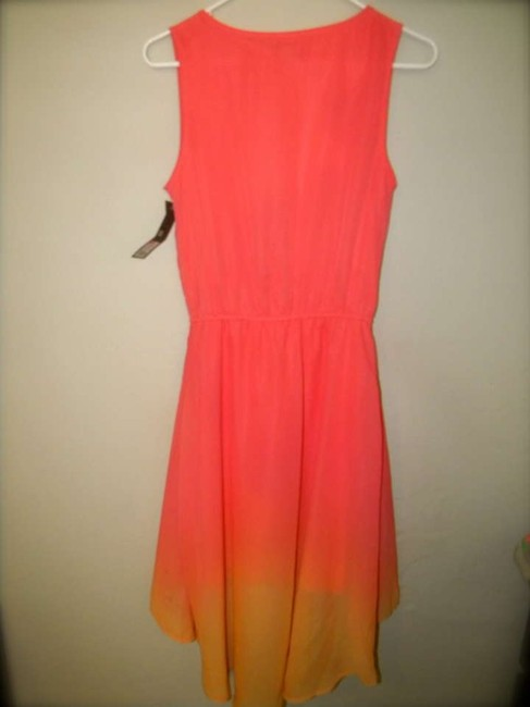Pink/Orange Ombre Maxi Dress by Mossimo Supply Co. High-low