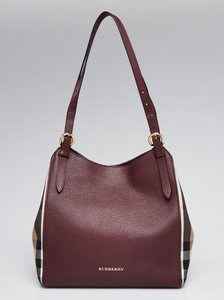 Burberry Tote in berry pink