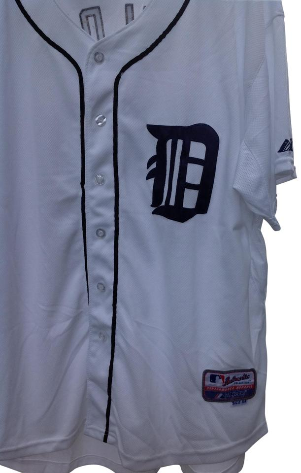 size 40 367e4 ee528 Majestic MLB White Jersey Throwback Detroit Tigers Cecil Fielder Activewear  Sportswear Size 28 (Plus 3x) 50% off retail