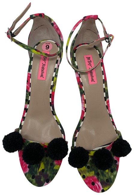 Item - Pink and Green and Black 4280 Formal Shoes Size US 9 Regular (M, B)