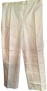 Bloomingdale's Trouser Pants bright white