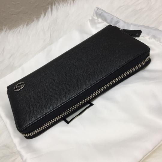 Gucci leather wallet with zip Image 1