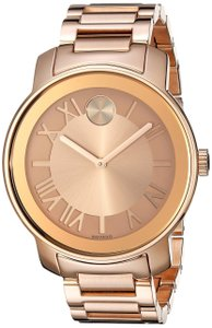 Movado Bold Stainless Steel Roman Numeral Dial 3600199 Watch