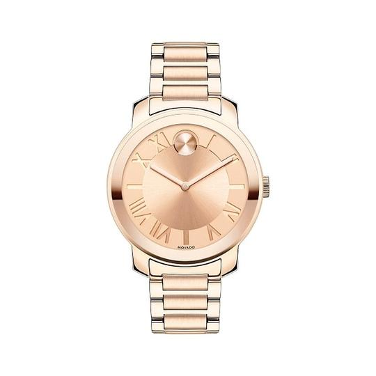 Movado Bold Stainless Steel Roman Numeral Dial 3600199 Watch Image 4
